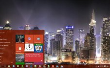 Skyline win10 theme