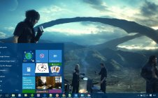 FFXV (Final Fantasy XV) win10 theme