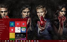 The Vampire Diaries win10 theme
