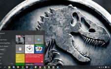 Jurassic World win10 theme