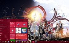 Fire Emblem win10 theme