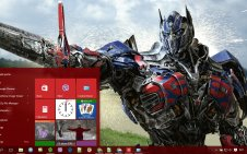 Optimus Prime win10 theme