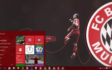 FC Bayern Munich win10 theme