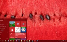 Watermelon win10 theme