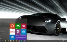 Lamborghini win10 theme