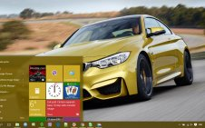 BMW M3 win10 theme
