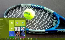 Tennis win10 theme