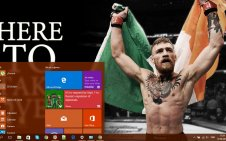 Conor McGregor win10 theme