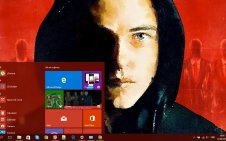 Mr. Robot win10 theme
