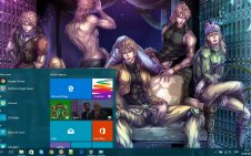 JoJo's Bizarre Adventure win10 theme