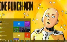 One Punch Man  win10 theme