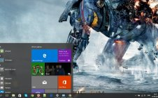 Pacific Rim win10 theme