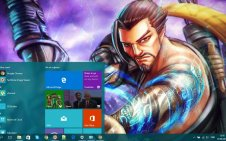 Hanzo (Overwatch) win10 theme