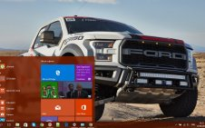 Ford F-150 win10 theme