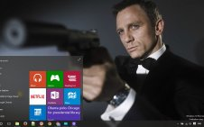 James Bond win10 theme