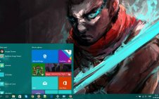 Ekko win10 theme
