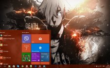 Death Parade win10 theme