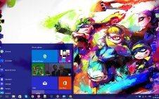 Splatoon win10 theme