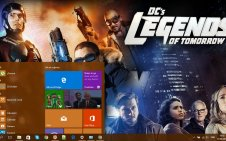 Legends of Tomorrow win10 theme