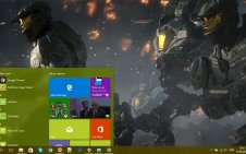 Halo Wars 2 win10 theme