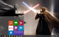 Star Wars win10 theme