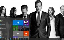 Suits win10 theme