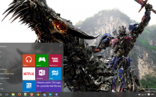 Transformers Age of Extinction win10 theme