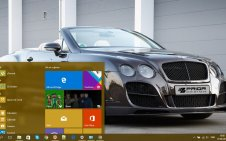 Bentley win10 theme