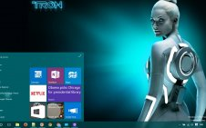 Tron win10 theme