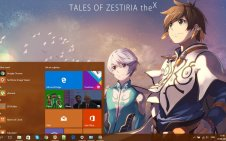 Tales of Zestiria the X win10 theme