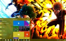 My Hero Academia win10 theme