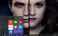 Twilight win10 theme