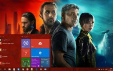 Blade Runner 2049 win10 theme