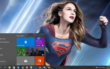 Supergirl Movie win10 theme