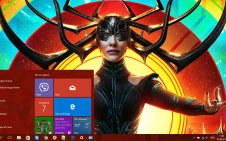 Hela win10 theme