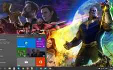 Avengers: Infinity War win10 theme