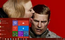 Wolfenstein II: The New Colossus win10 theme