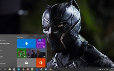 Black Panther (Movie) win10 theme