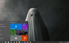A Ghost Story win10 theme