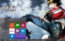 Air Gear win10 theme