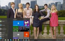 Gossip Girl win10 theme