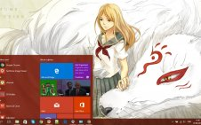 Natsume's Book of Friends win10 theme