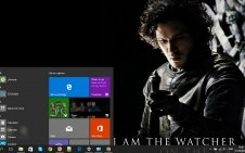 Night's Watch win10 theme