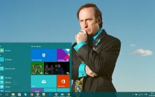Better Call Saul win10 theme