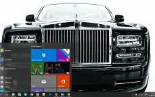 Rolls-Royce win10 theme