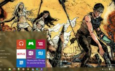 Mad Max win10 theme