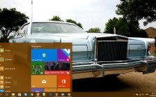 Lincoln Continental win10 theme