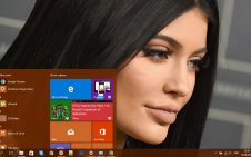 Kylie Jenner win10 theme