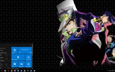 Diamond Is Unbreakable win10 theme