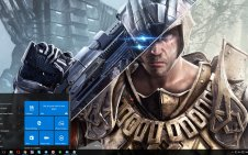 Elex win10 theme
